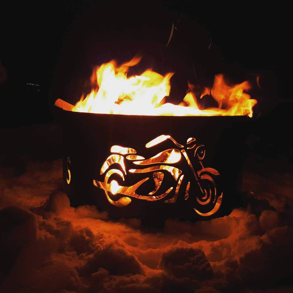 Motorcycle Fire Pit