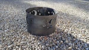 Stars & Moon Fire Pit Ring
