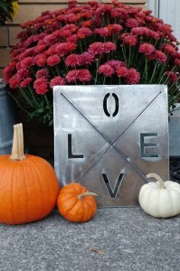 Love Sign Fall Time